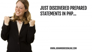 PHP Prepared Statements Class