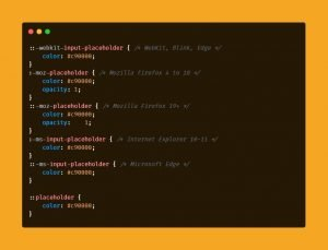 CSS Code Snippets 6