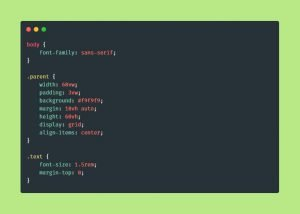 CSS Code Snippets 5