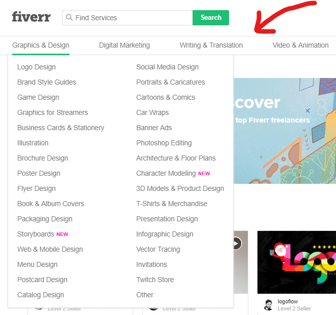 Use Fiverr to Create Your Freelance Service Offers 1