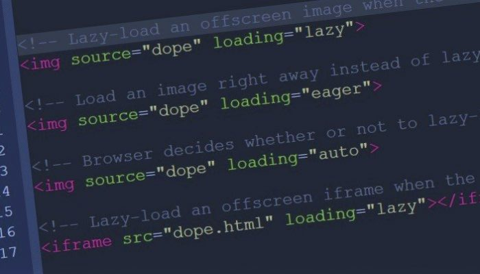 New Native Lazy Loading Attribute for HTML img and iframe